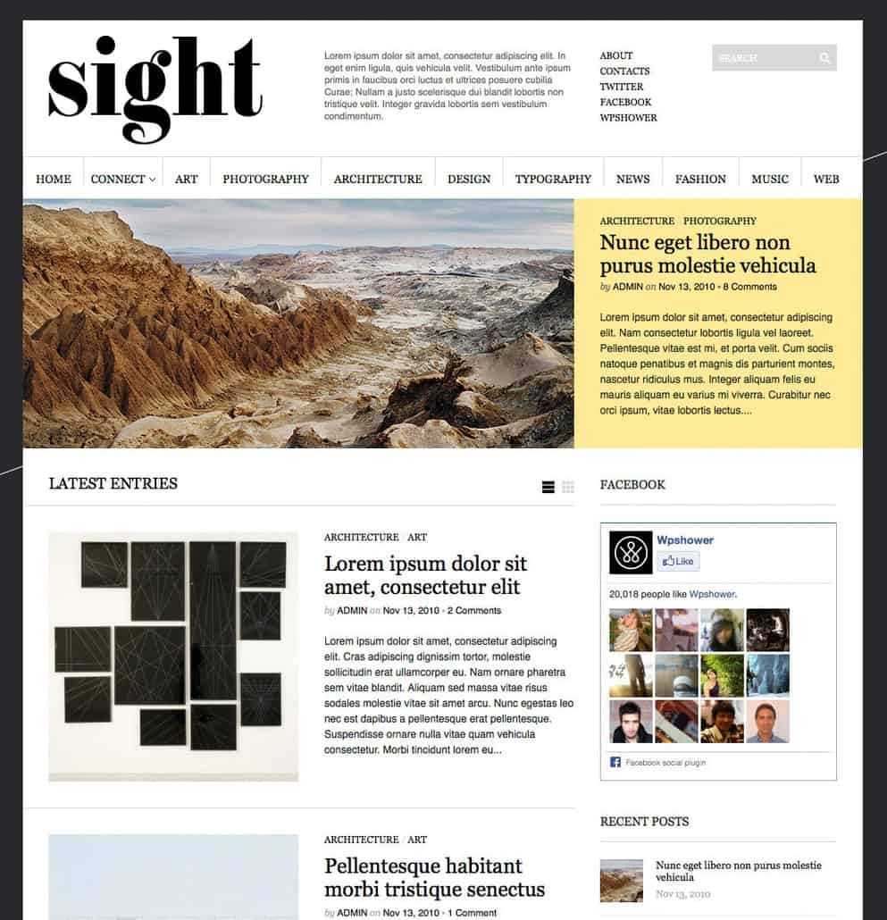 WordPress Sight wp-mon-site.com